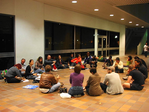 GA 12/19/11 Tali facilitating | by Occupy Miami Photos