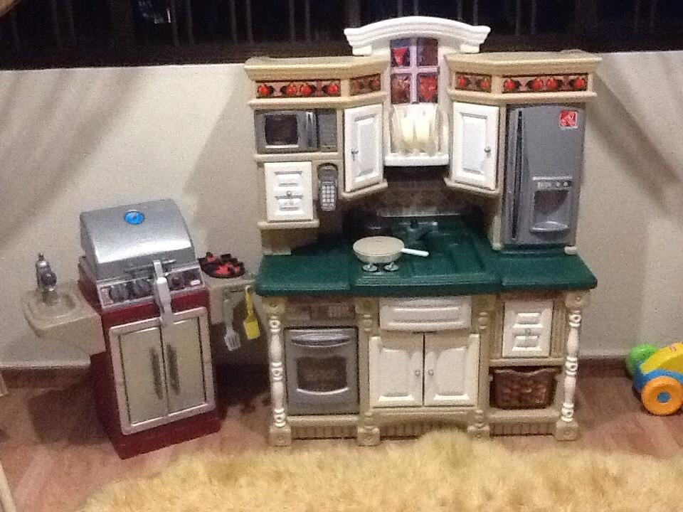 Lifestyle Dream Kitchen Step2 Kitchen Play Set Bbq Grill