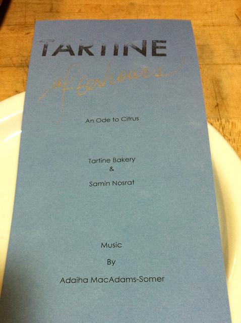 Tartine Afterhours