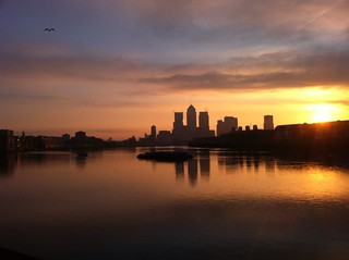 London Sunrise, from King Edward Memorial Park