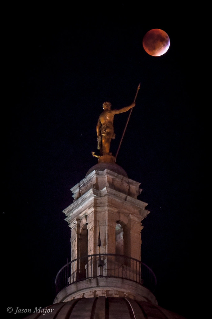 Supermoon Eclipse 2015