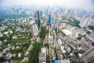 Skyline of Guangzhou by Qicong Lin(Kenta)