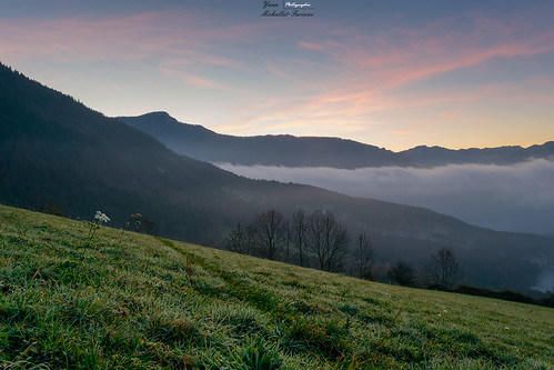 sea sky cloud mountain alps green wet beautiful grass sunrise colorfull chartreuse