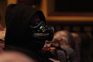 High roller proudly wearing the high roller mask | by 4nitsirk
