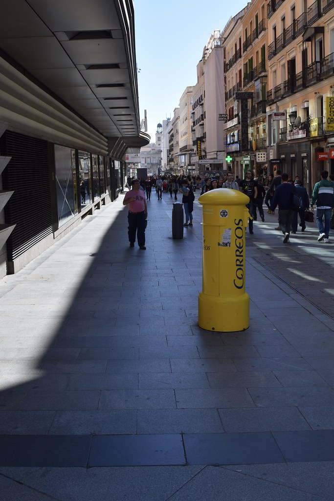 Calle Preciados Y Buzon De Correos Madrid M Roa Flickr