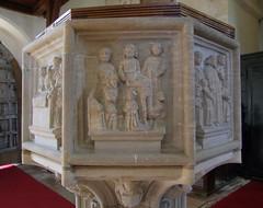 seven sacrament font: confession