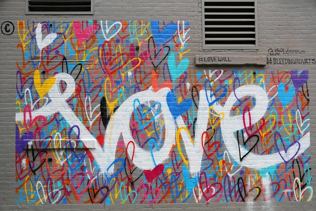 Street Art in Nolita & Little Italy Manhattan New York