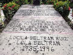 Grave of Lola Beltrán