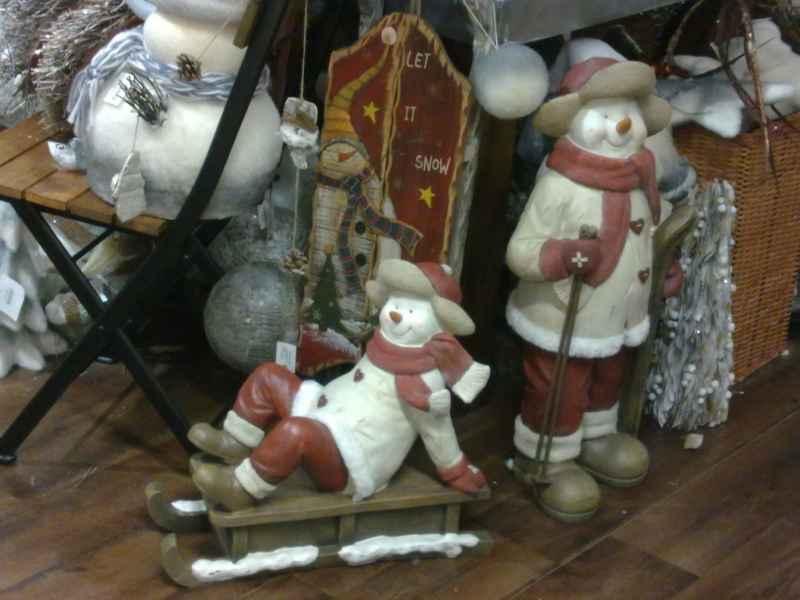 Adornos navideños de madera