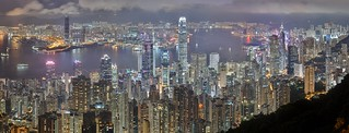Hong Kong Skyline from Victoria Peak | by UltraView Admin