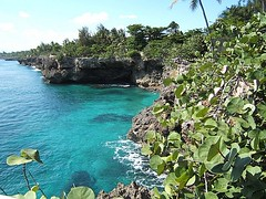 SANTO DOMINGO, DOMINICAN REPUBLIC - coastline/ САНТО-ДОМИНГО, ДОМИНИКАНСКАЯ РЕСПУБЛИКА - побережье