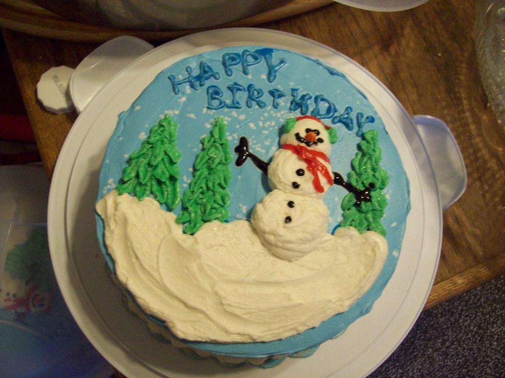 Prime December Birthday Cake 002 Blindtraveller Flickr Funny Birthday Cards Online Hendilapandamsfinfo