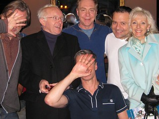 "With Paul Daniels, ""Teller"", Kev Orkian and Debbie McGee 
