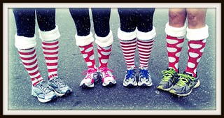 Running in Christmas socks | by RVWithTito