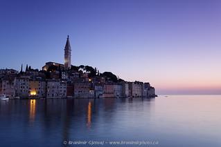 Old town of Rovinj at dusk. Istria, Croatia | by Branimir Gjetvaj