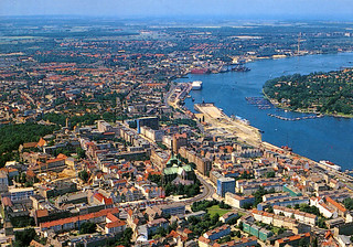 Rostock from the Air (Postcard)