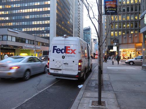FedEx in bike lane | by dalmond