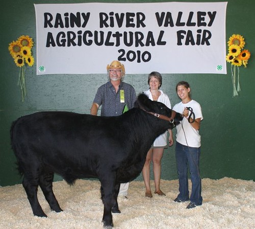 John and his winning Steer - Rainy River Valley Agricultural Fair - 2010 | by JohnRafferty, MP