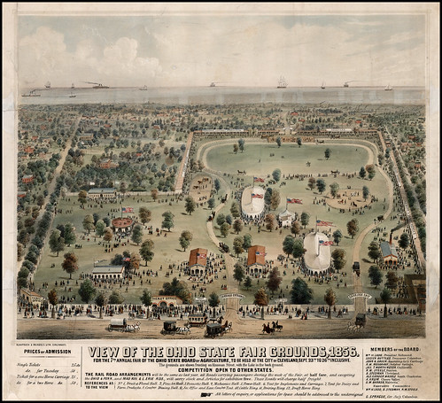 View of the Ohio State Fair Grounds, 1856 | by Christopher Busta-Peck