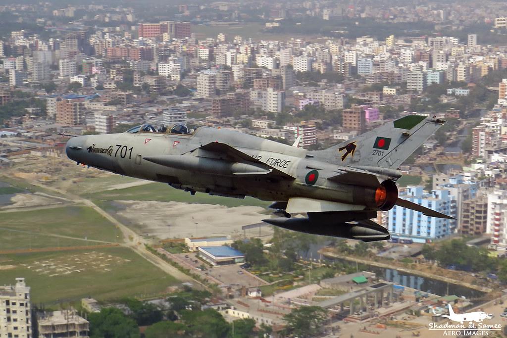 7 0h 1 over Uttara: Bangladesh Air Force FT-7BGI   Two shot …   Flickr