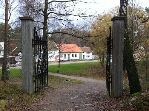 Vest-Agder-museet Kristiansand, Bygada sett fra Setesdalstunet