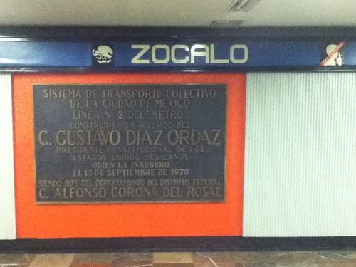 Metro @ Mexico City 11.2011
