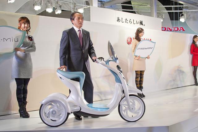 YAMAHA CEO Hiroyuki Yanagi