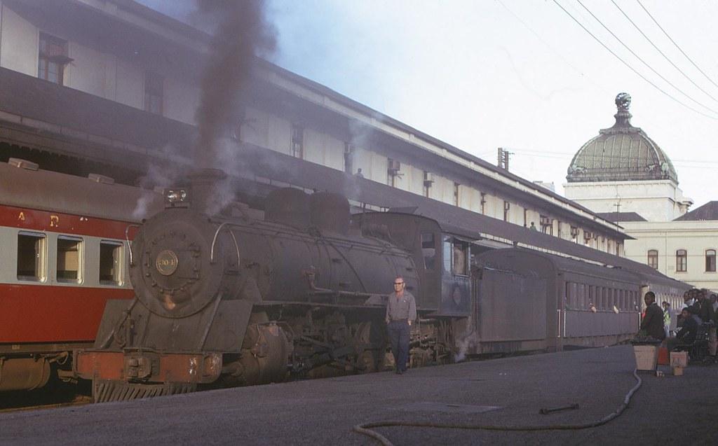 Caminhos de Ferro de Moçambique, Lourenço Marques (Jorge Woods. 1973)