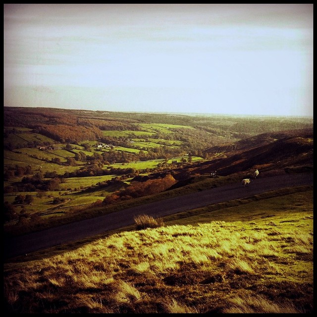 View of Rosedale from Bank Top, Yorkshire