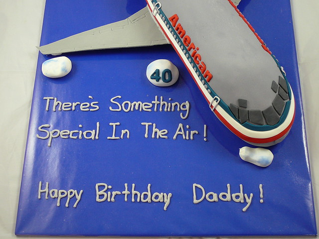 American Airlines Cake