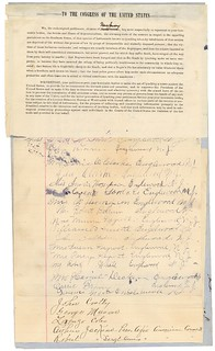 Petition from the citizens of New Jersey praying for Congress to make the act of lynching a crime against the United States, 02/21/1900