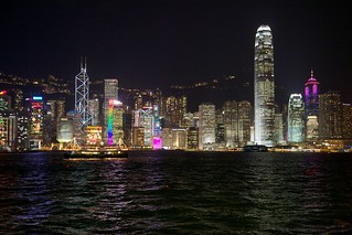 Hong Kong skyline | by hanspoldoja