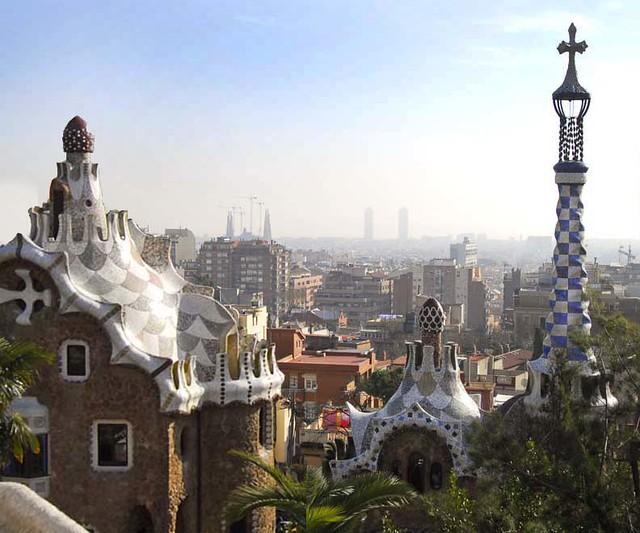 Gaudi... (Park Guell)