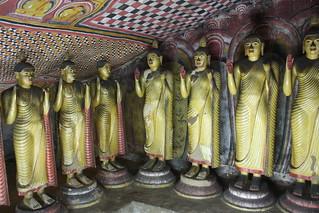Dambulla, cave III