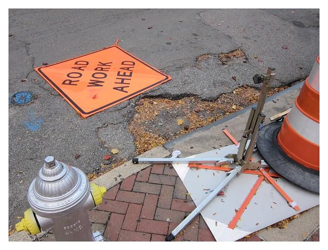 Straßenpflaster / Road Work