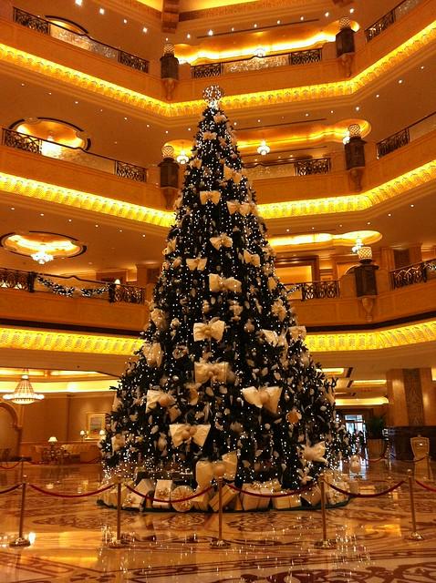 Christmas Tree at the Emirates Palace
