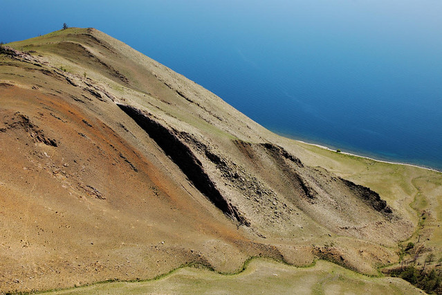 7088 Тажеранская степь, Tazeranskaja steppe, озеро Байкал, Lake Baikal