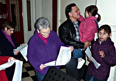 Carol Singing at Princes Park Mansions, 2011 (3)