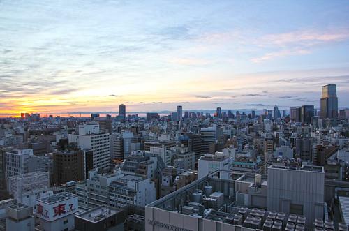 tokyo 東京 surise 朝日 ef24105mmf4lisusm eos5dmkii アキバトリム fromremmakihabara