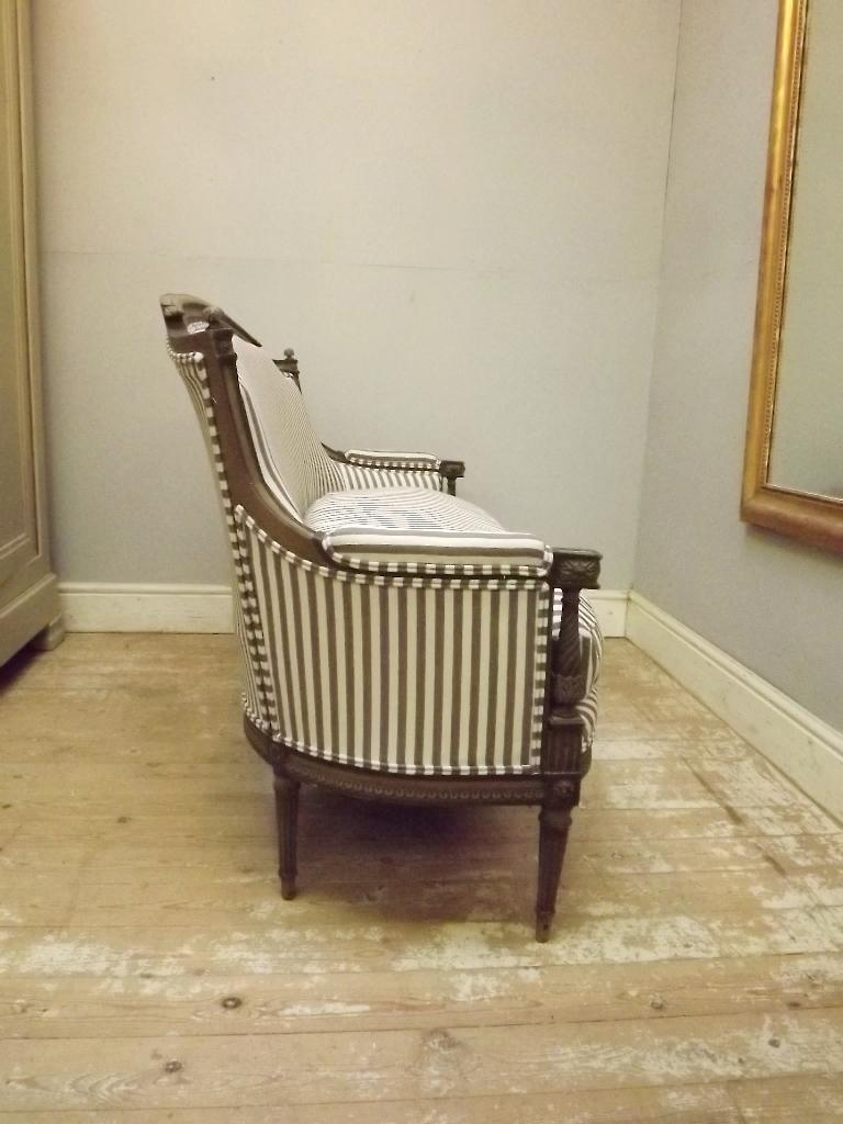 Fine Reupholstered French Antique Sofa Louis Xvi Style Louis Xv Machost Co Dining Chair Design Ideas Machostcouk