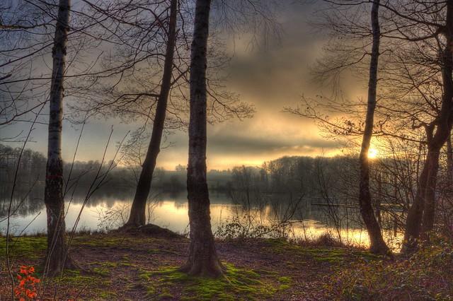 Hücker Moor January Sunset 5