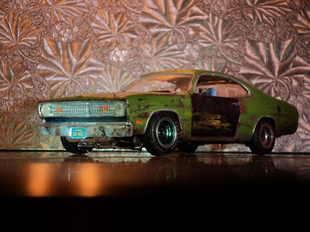 71 Plymouth Duster Hardtop | I built this model kit as a so