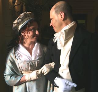 Jane & Gregory, Jane Austen Evening 2012