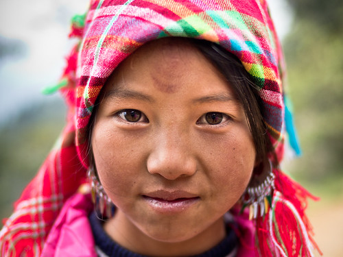 A Black Hmong girl named Po, Sa Pa | by adde adesokan