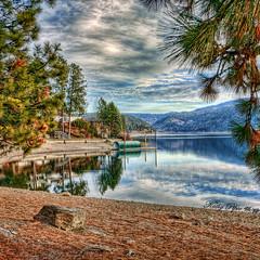Lake CDA on a Sunny Day