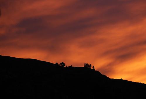 california morning sky color sunrise canon dawn glendale ridge t2i verdugohills