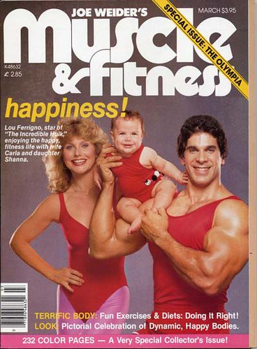 Muscle and Fitness Cover 1981 | by FerrignoFIT