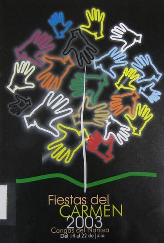 Cartel y programa 2003