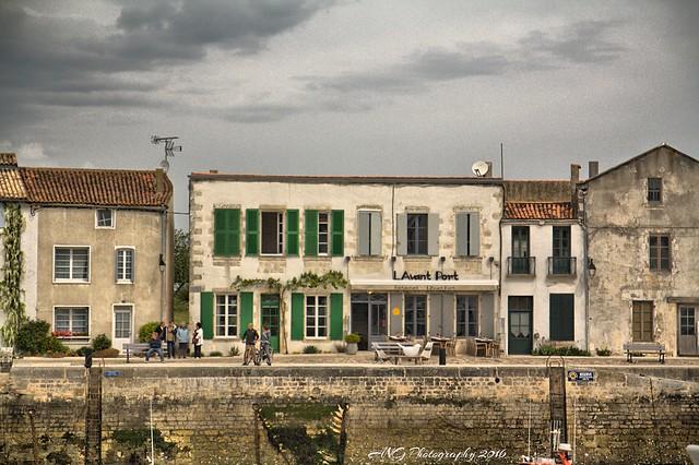 L'avant port Vendée Ile de Ré