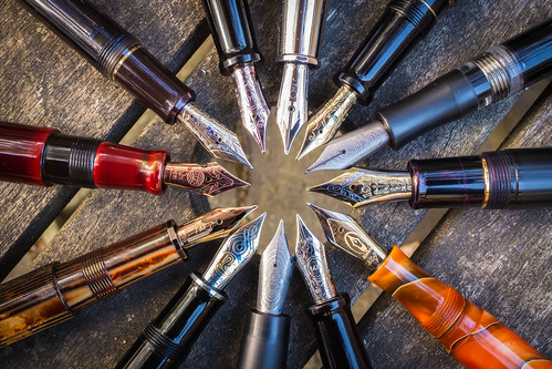 A 'rotation' of fountain pens | by craiglea123